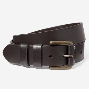 Eddie Bauer American Sportsman Leather Belt in Oak